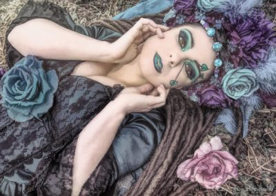 The Awakening of Spring. Model; Savra. Photgrapher; Colin Dixon.